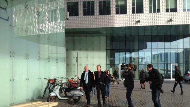 Bos komt aan bij gerechtshof Amsterdam