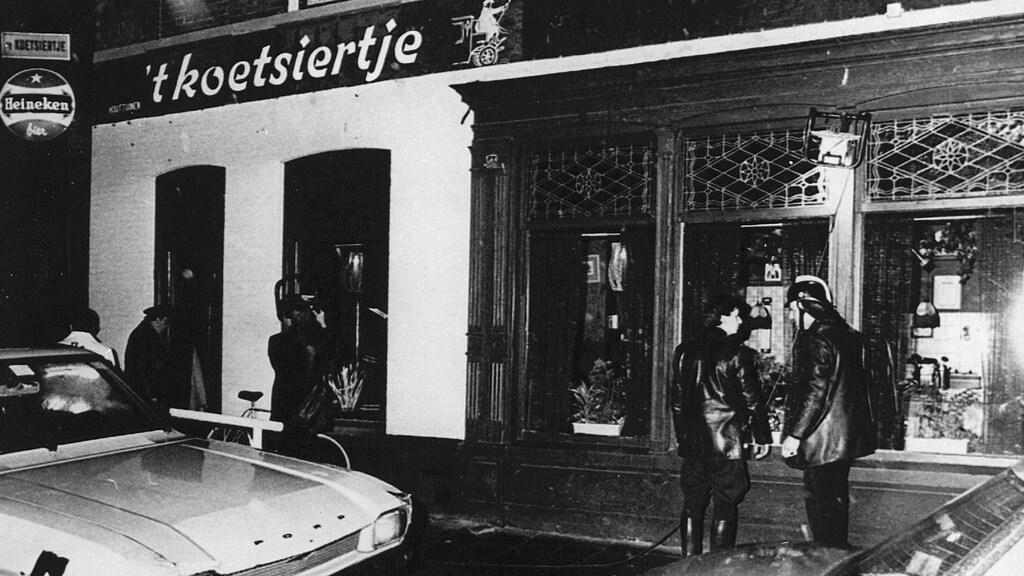 Café 't Koetsiertje, waar Yilmaz in 1983 zes mensen doodschoot