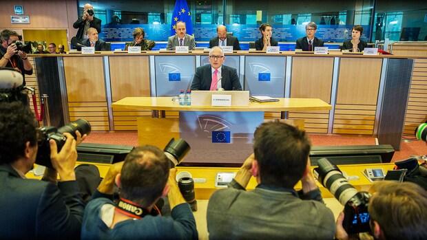 Europarlement ondervraagt Timmermans