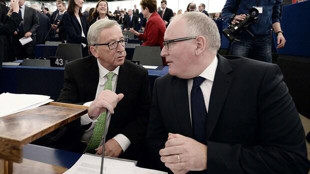 Team Juncker moet 'mislukking' voorkomen