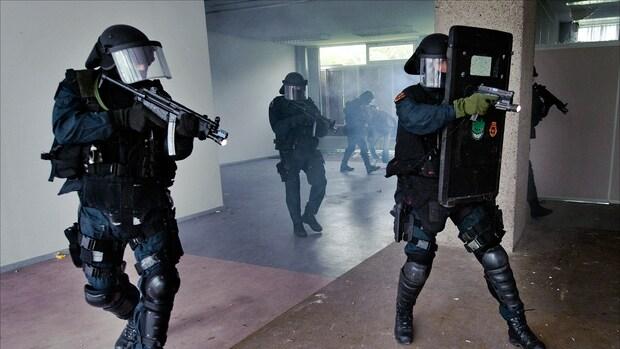 Zware eenheden Nederland staan klaar tegen terreur