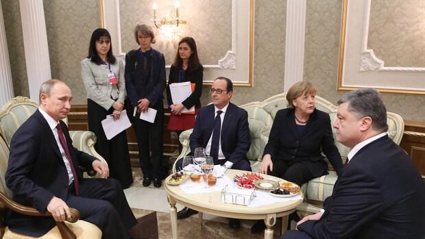 Akkoord over Oekraïne, vanaf 15 februari staakt-het-vuren