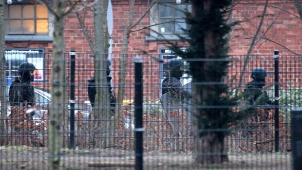 Schutters Kopenhagen gevlucht in auto