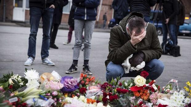 Twee mannen vast voor hulp aanslagen Kopenhagen