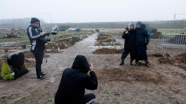 Honderden op begrafenis schutter Kopenhagen