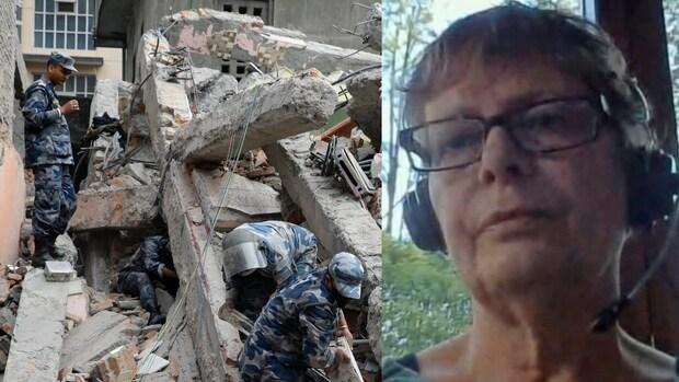 Aardbeving Nepal: 'Iedereen was aan het gillen en in paniek'