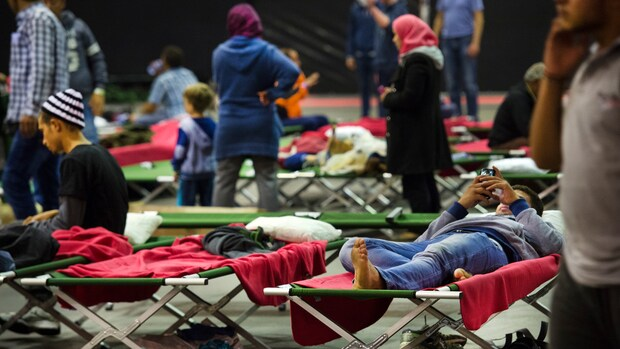 In één week tijd 3100 asielzoekers in Nederland