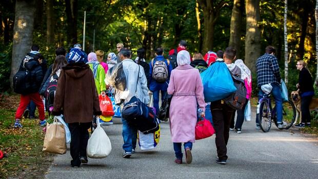 Ontevreden vluchtelingen verlaten noodopvang Heumensoord