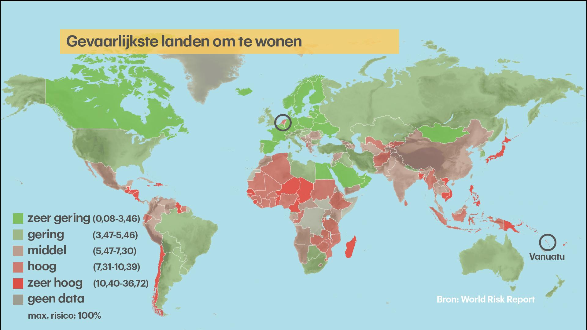 Nederland gevaarlijkste plek in europa om te wonen rtl nieuws - Bank thuismarkten van de wereld ...