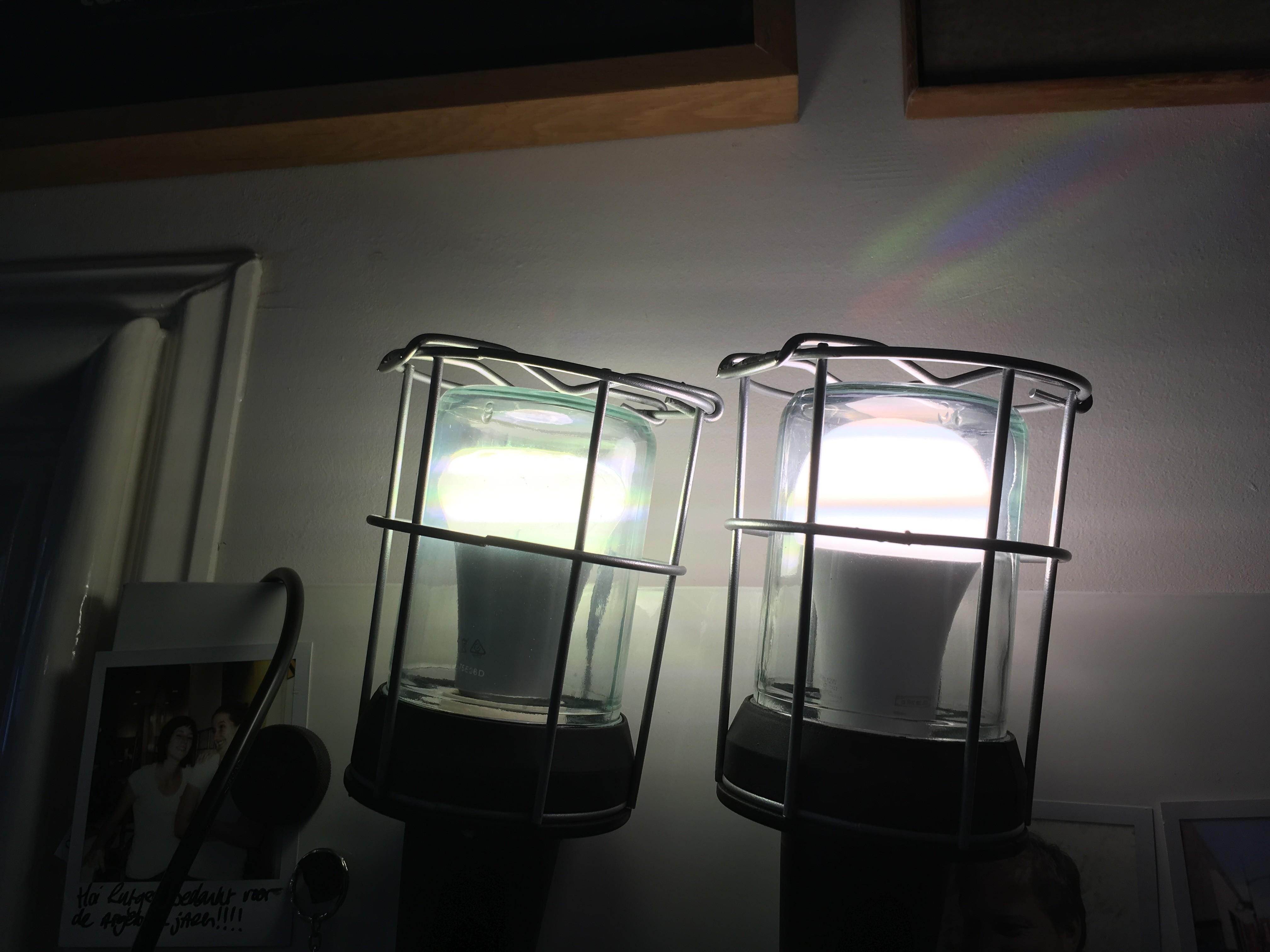 duurtest slimme lampen ikea tradfri vs philips hue. Black Bedroom Furniture Sets. Home Design Ideas