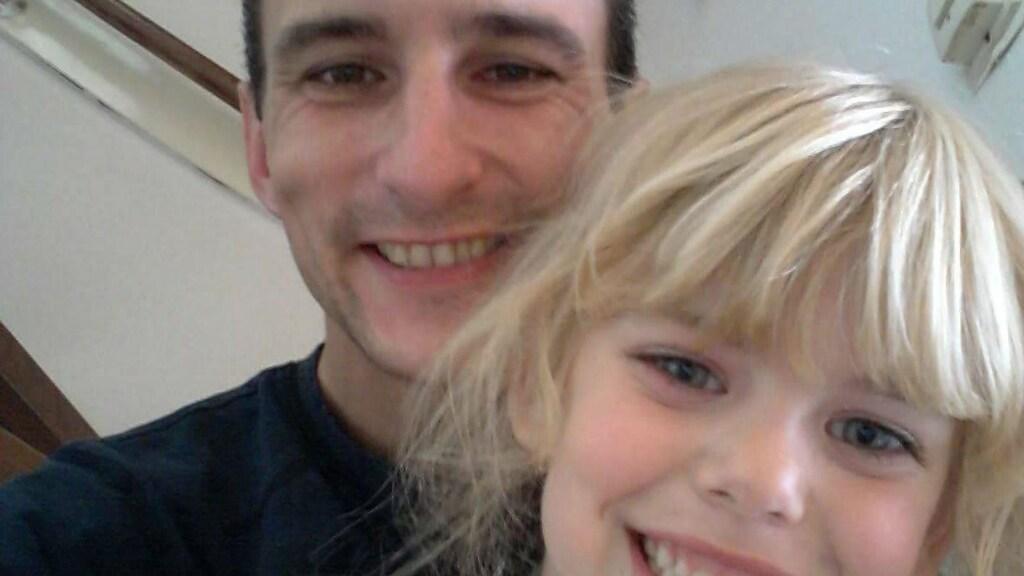 Vader Victor Remouchamps en zijn dochter Sharleyne