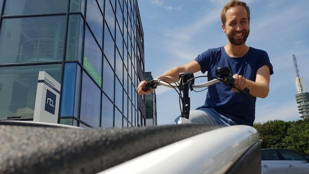 Test: met een elektrische bakfiets naar kantoor