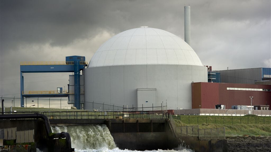 De kerncentrale in het Zeeuwse Borsele.