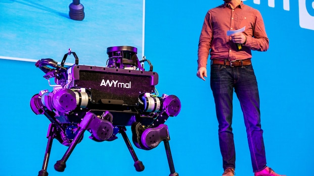 'Robotviervoeter moet ook kunnen springen'