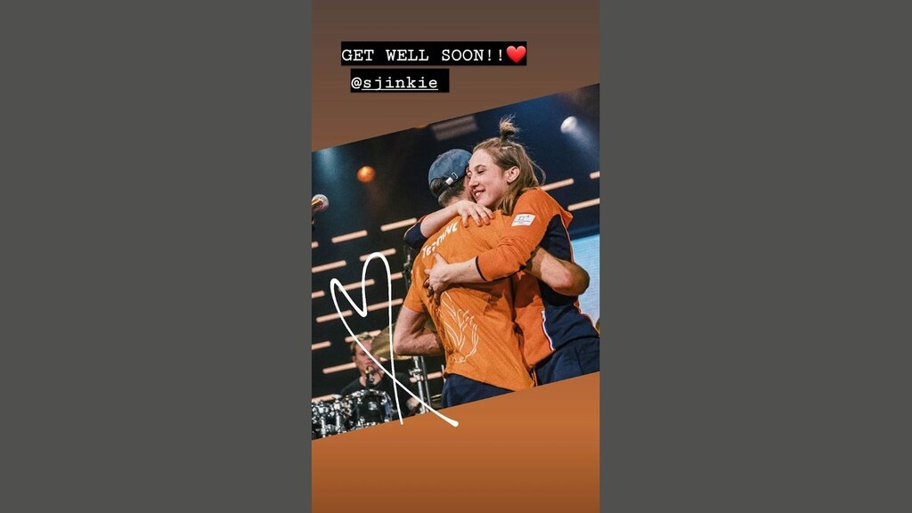 Suzanne Schulting op Instagram