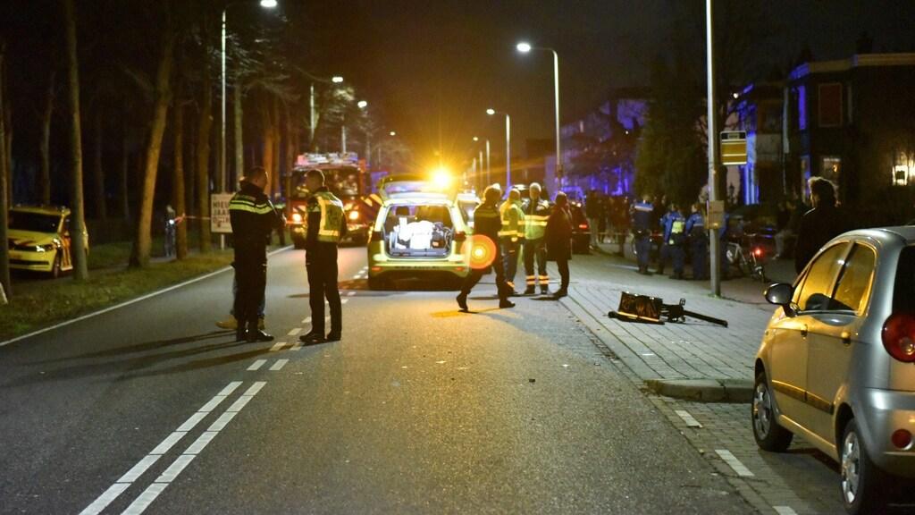 Het ongeluk met de jonge maaltijdbezorger gebeurde in Utrecht.