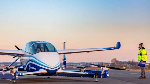 Testvlucht Boeing met 'vliegende auto'