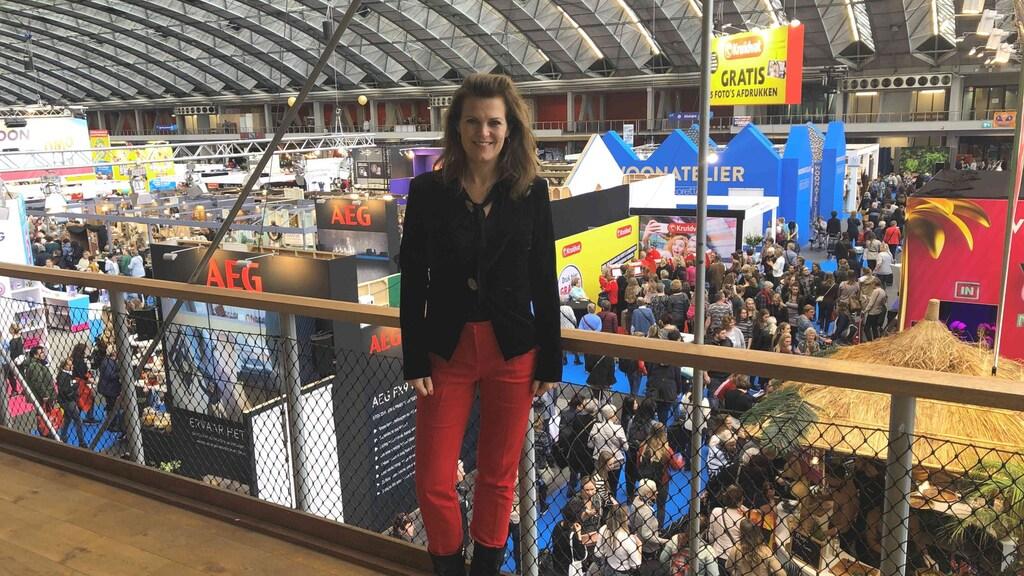 Event-director Nicole Babay van de Rai.