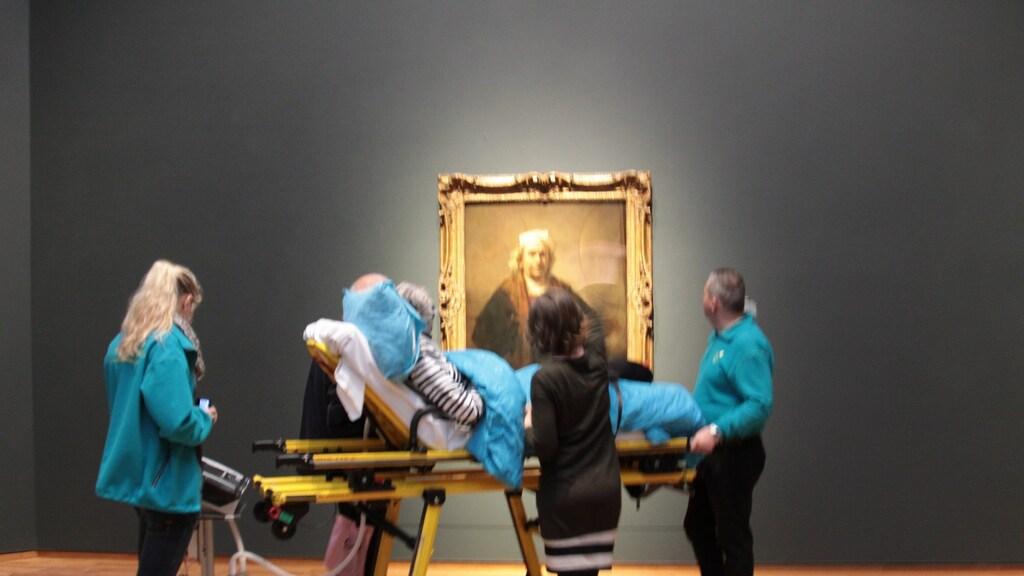 De laatste wens van deze vrouw: nog één keer naar het Rijksmuseum.