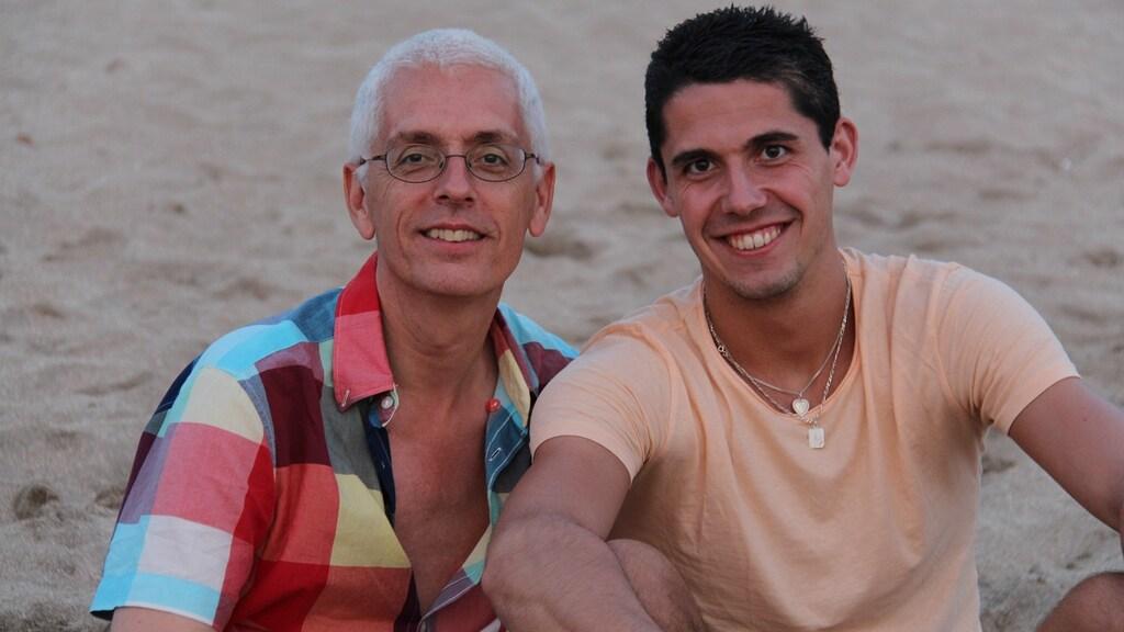 Vader Stef en zoon Erik Meijs
