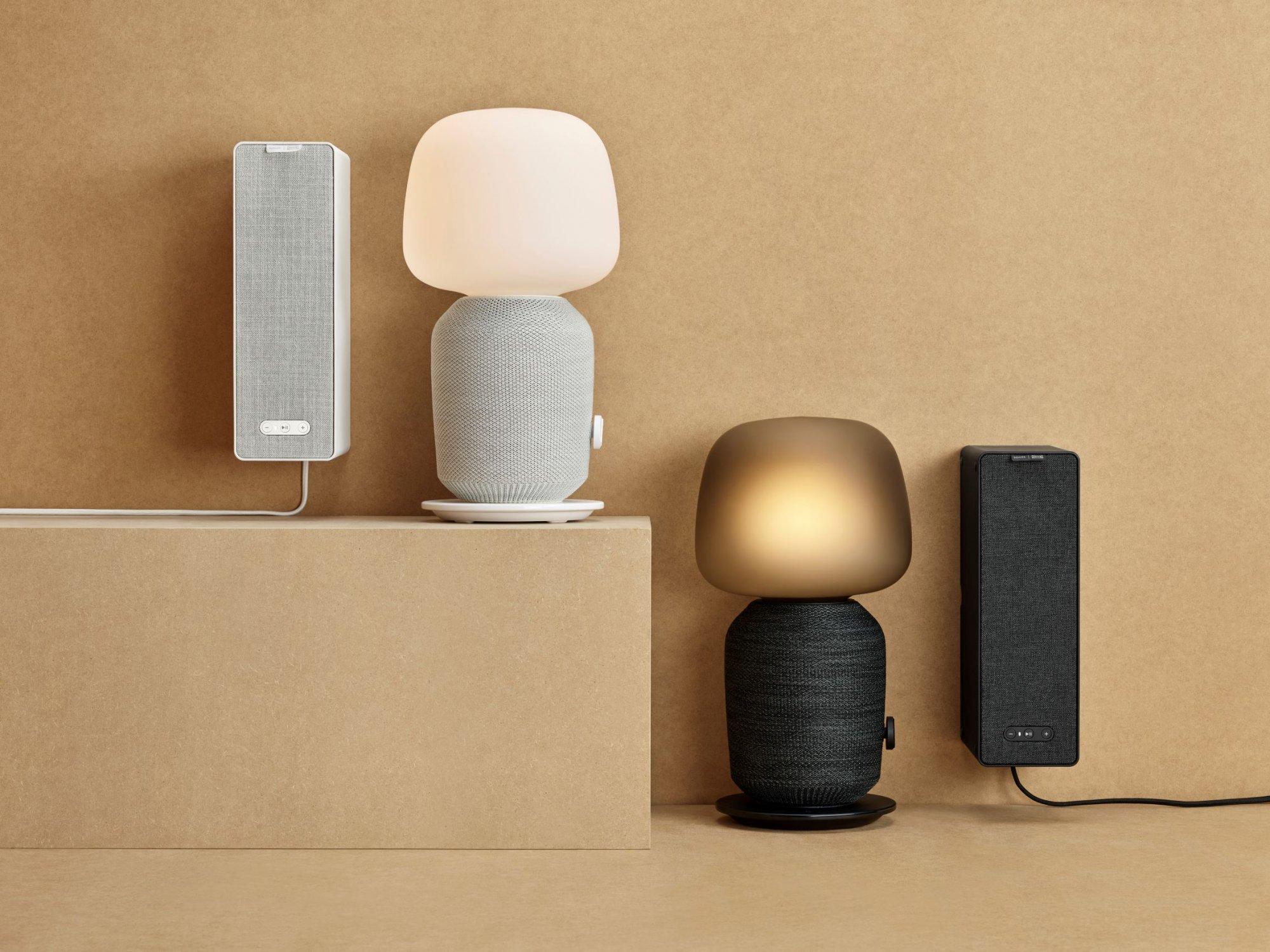 Ikeas Eerste Sonos Speakers Zijn Ook Tafellamp En