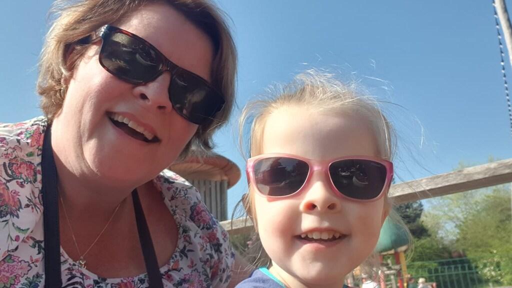 Jacqueline en haar dochter Lynn
