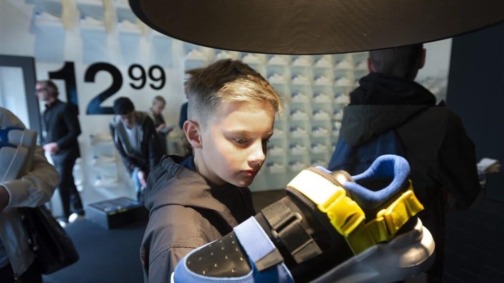 Ugly sneaker van Zeeman.