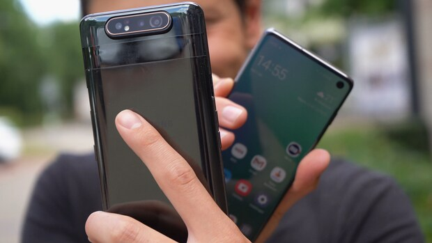 Review: Samsung Galaxy A80 met omdraai-camera
