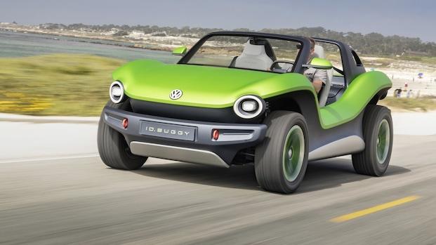 Elektrische Volkswagen ID. Buggy voor het eerst de weg op