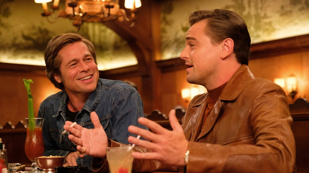 Leonardo DiCaprio aan de sigaretten in Once upon a time... in Hollywood