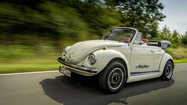 Volkswagen helpt klassieke Kever ombouwen tot elektrische auto