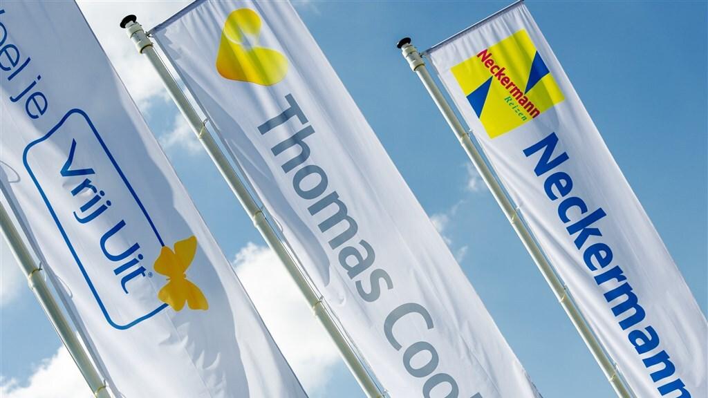 Het merk Vrij Uit werd niet meer gebruikt door Thomas Cook.