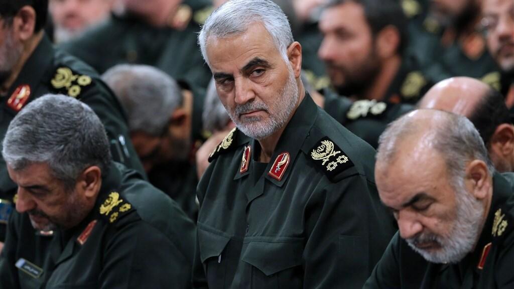 Archiefbeeld van de machtige generaal Qassem Soleimani.