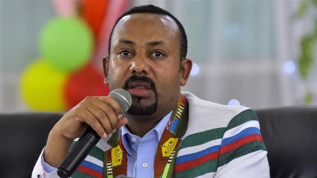 De Ethiopische premier Abiy Ahmed