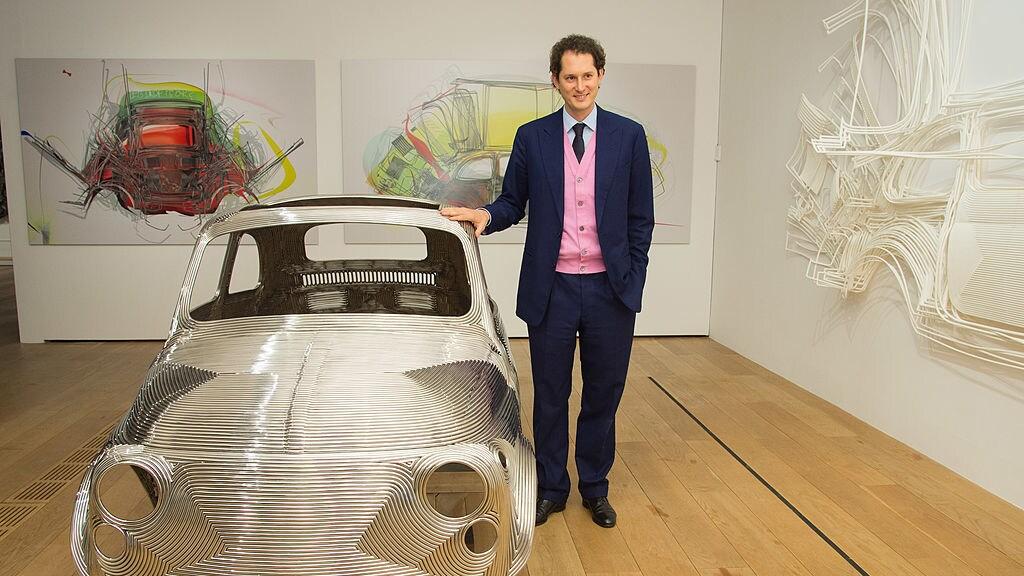 President John Elkann van Fiat Chrysler.