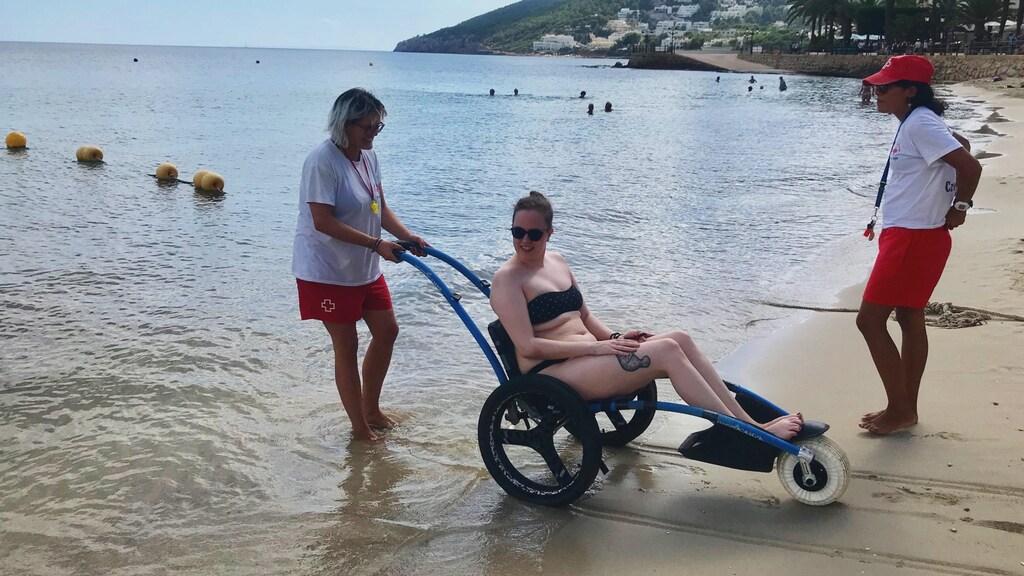 Annika op Ibiza