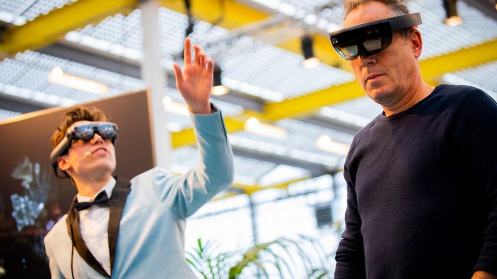 Allerlei VR- en AR-brillen waren te testen