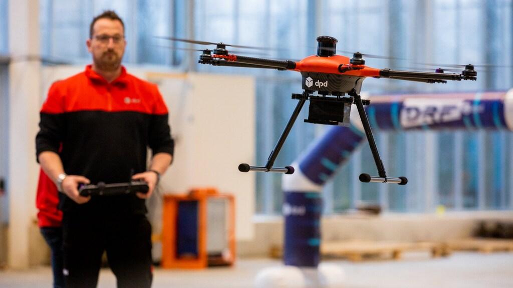 Drones van DPD