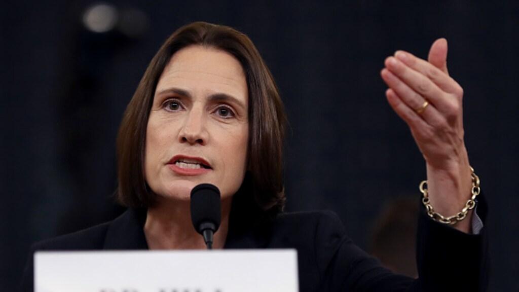 Fiona Hill, voormalig Rusland- en Oekraïne expert voor het Witte Huis, tijdens haar getuigenis