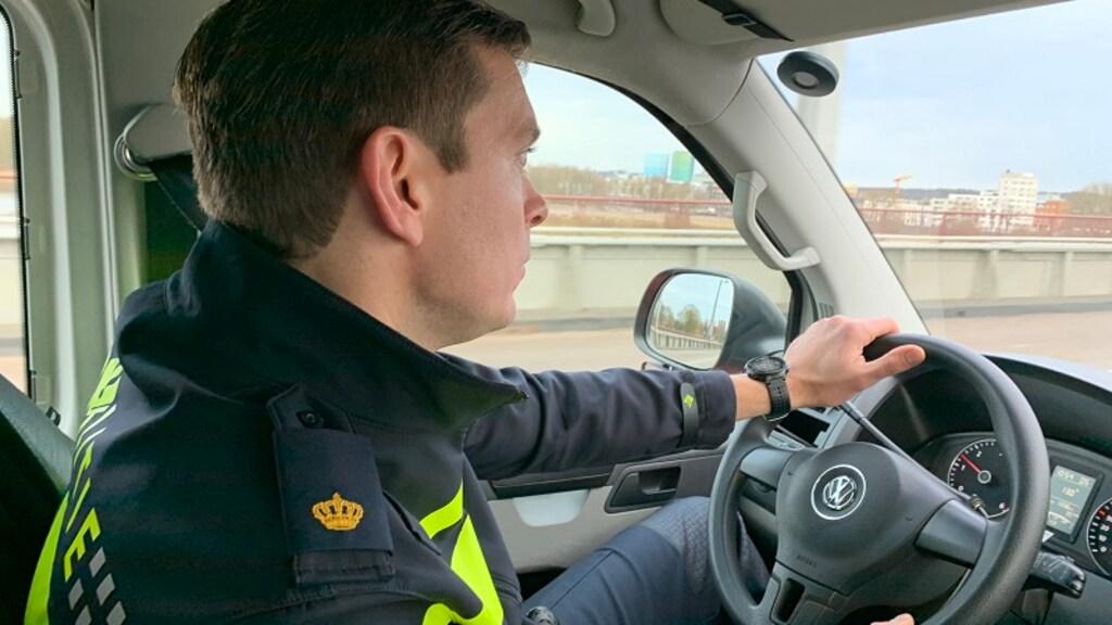 Teamchef Gideon Zandstra van de politie in Arnhem
