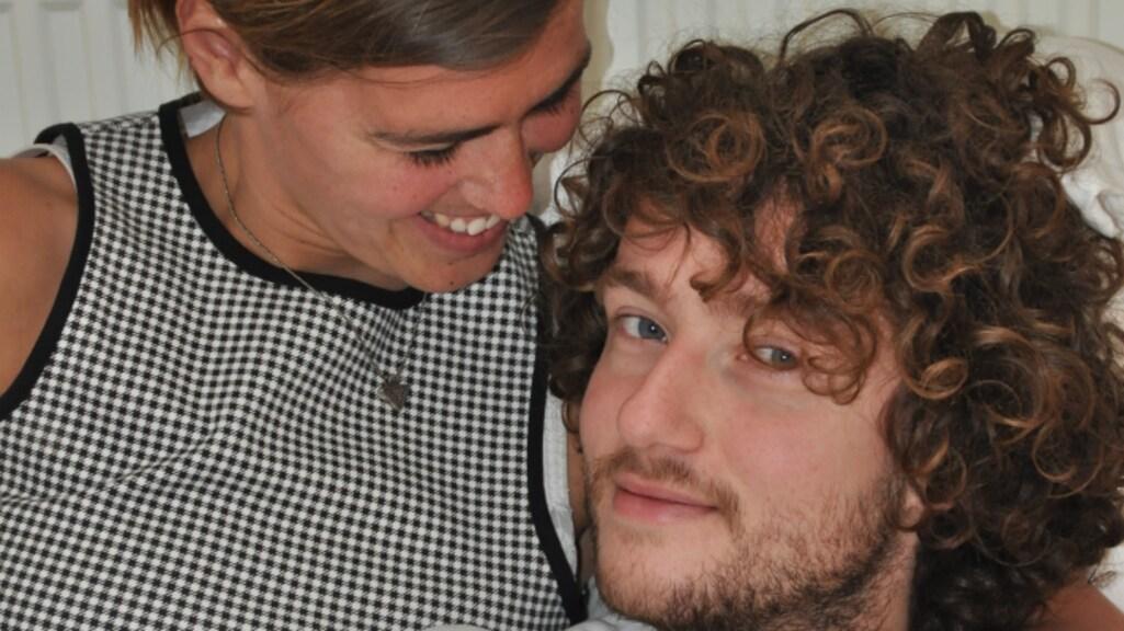 Rikkert en zijn vriendin Ali.