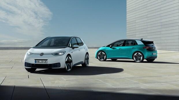 Volkswagen levert elektrische auto ID.3 met incomplete software
