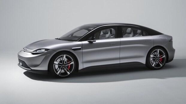 Sony gaat elektrische auto op openbare weg testen