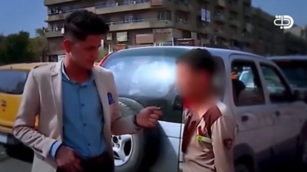 Noor aan het werk in Irak.
