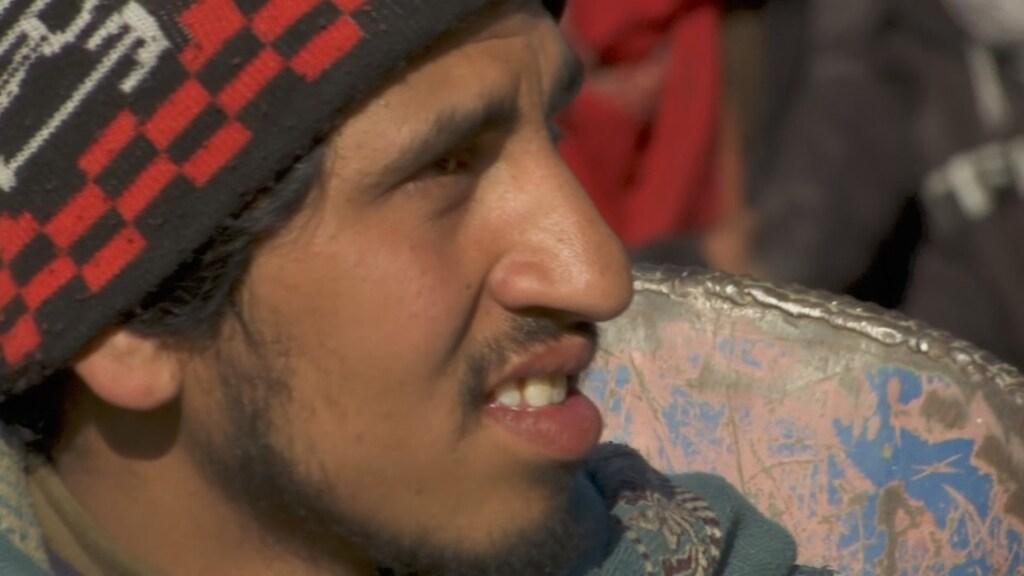 Omaid (20): 'We hebben vrede nodig. Dat is alles.'