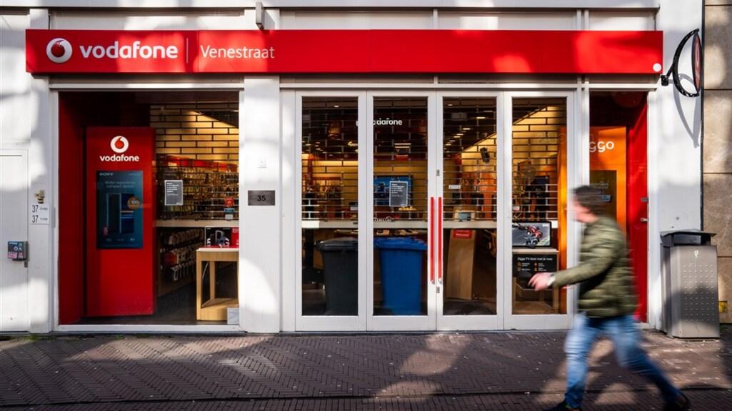 Telecombedrijven zoals VodafoneZiggo hebben hun winkels gesloten vanwege het coronavirus.