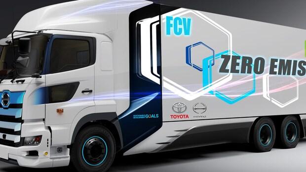 Toyota werkt aan vrachtwagen op waterstof