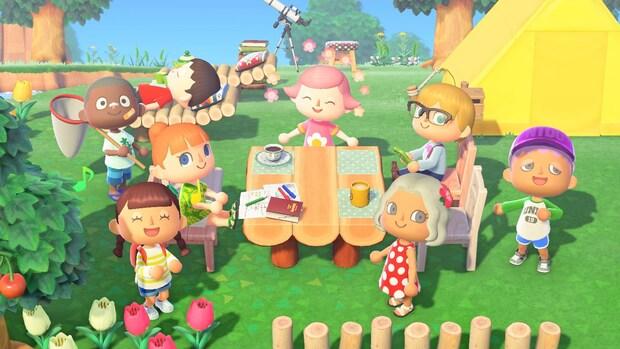Verkooprecords voor Nintendo Switch en Animal Crossing