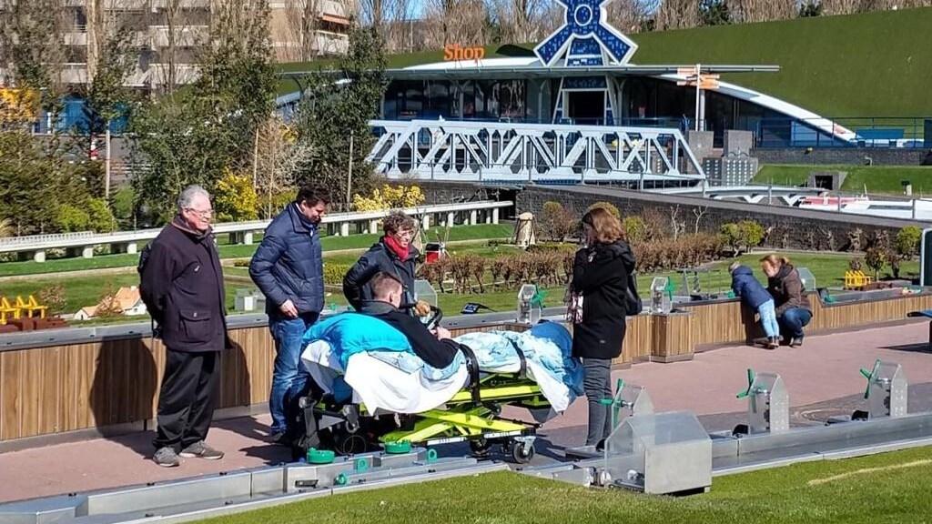 Voor Martijn en zijn familie ging het pretpark open.
