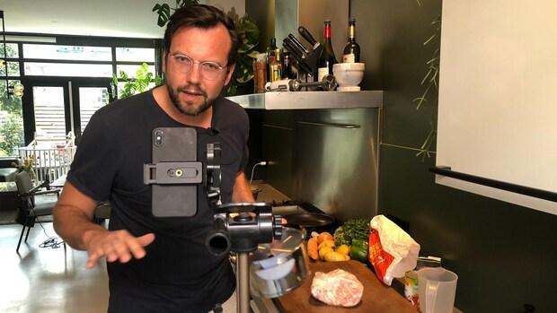 Emiel begon een digitale eetclub: 'Leerzaam en gezellig'